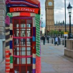 Phone Box Cosy